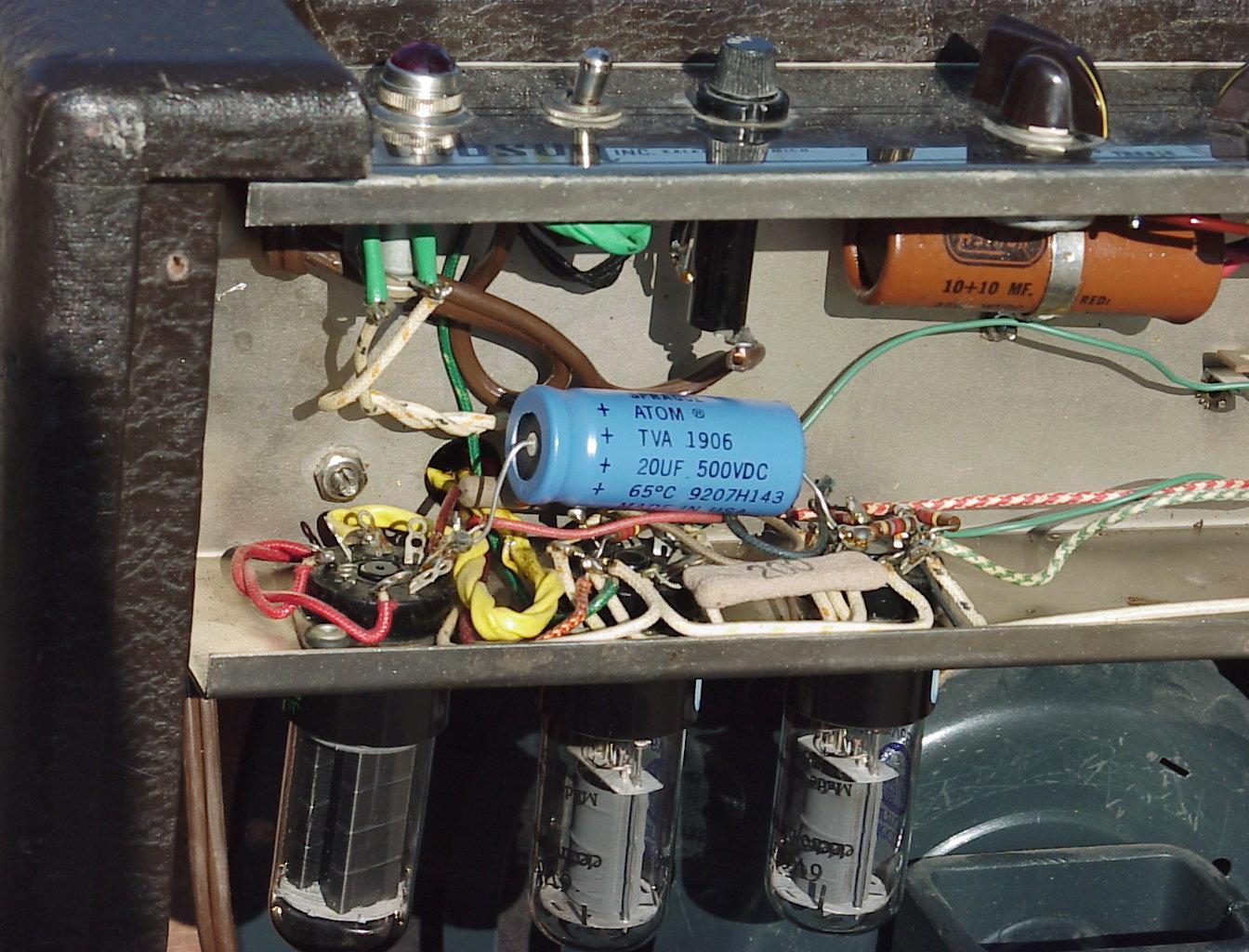 Gibson Ga 6 Guitar Amp Photos